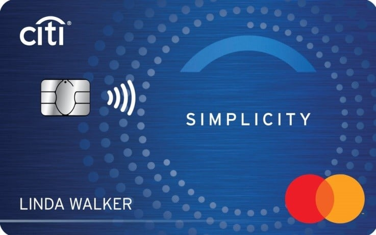 Citi Simplicity Card Art 12 4 19