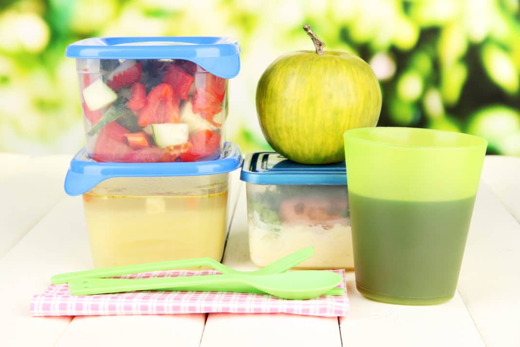 Dangers of Plastic Food Containers, Water Bottles