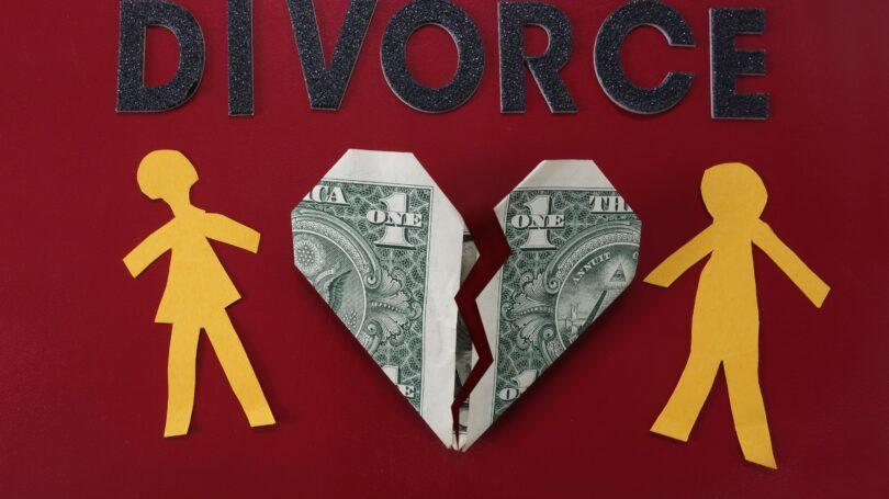 Divorce Ripping Heart Cash In Half