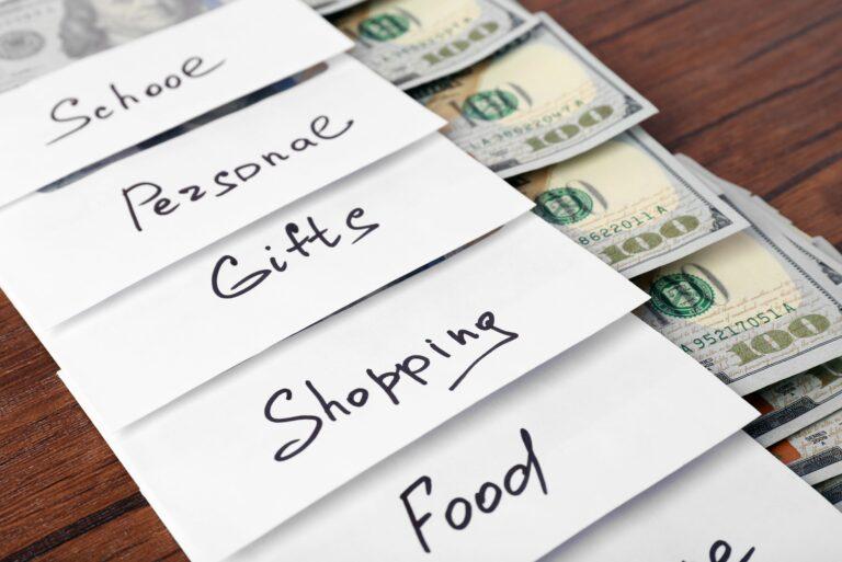 Envelope Budgeting System Tips