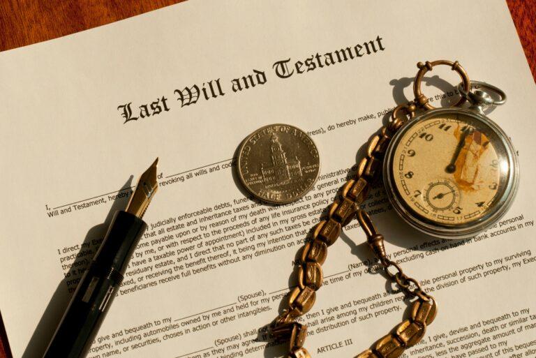 Family Member Death Estate Settlement Probate