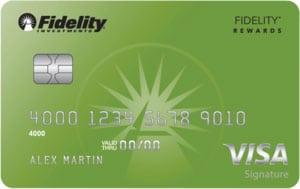 Fidelity Rewards Visa Signature Card
