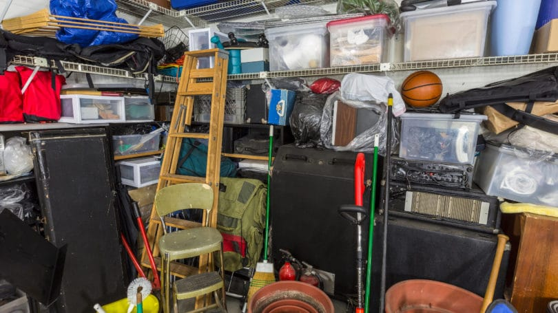 Hoarding Material Things