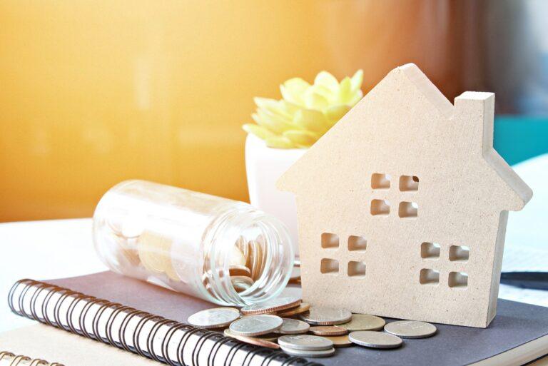 House Jar Coins Home Improvement Savings Loan