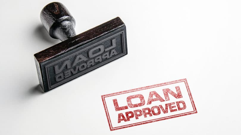 Loan Approved Stamp Ink