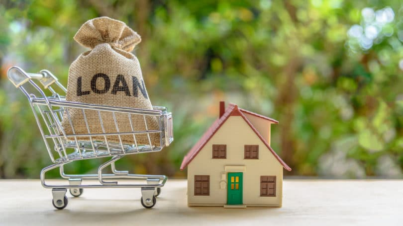 Loan Mortgage House Shopping Cart