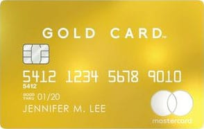 Luxury Mastercard Gold Card