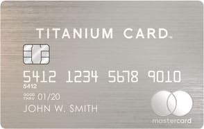 Luxury Titanium Card