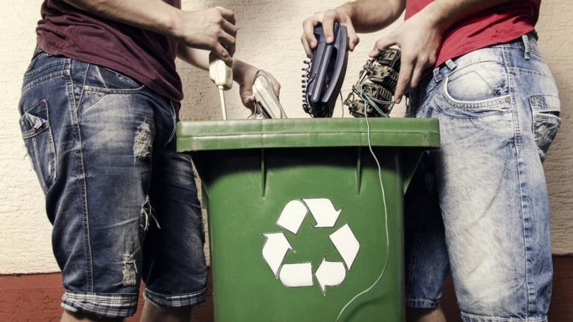 Recycle Electronic Waste Safely