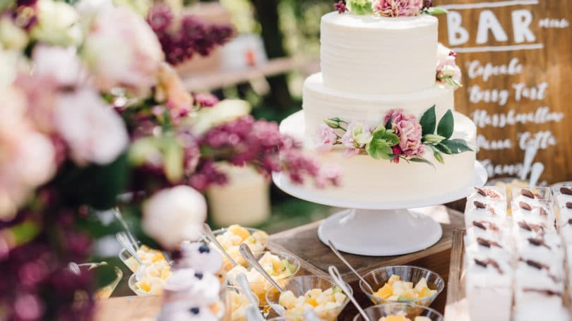 Reduce Wedding Dessert Cost