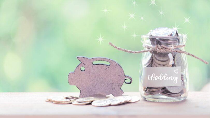 Wedding Savings Loan Jar Coins Piggybank