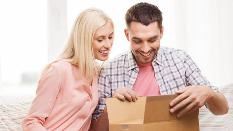 Couple Receives Box Shipment In Mail