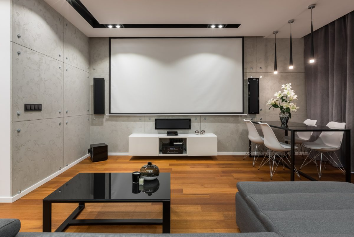 How To Build A Home Movie Theater Room On A Budget Installation
