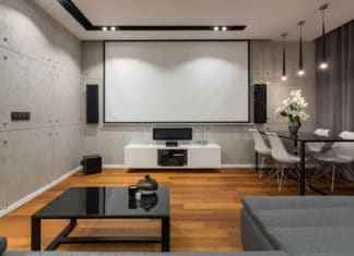 Home Movie Theater Design Installation