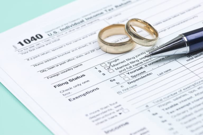 Married Filing Taxes Jointly Separately