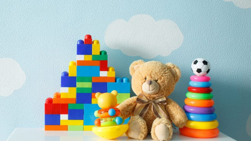 Toys Stuffed Animal Legos Ball Babies