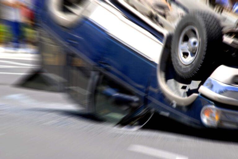 Upside Down Car Crash