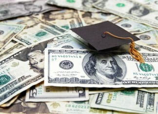 Cash Cap Graduation Student Loan Debt Cost Education