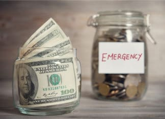 Emergency Fund Cash Jar