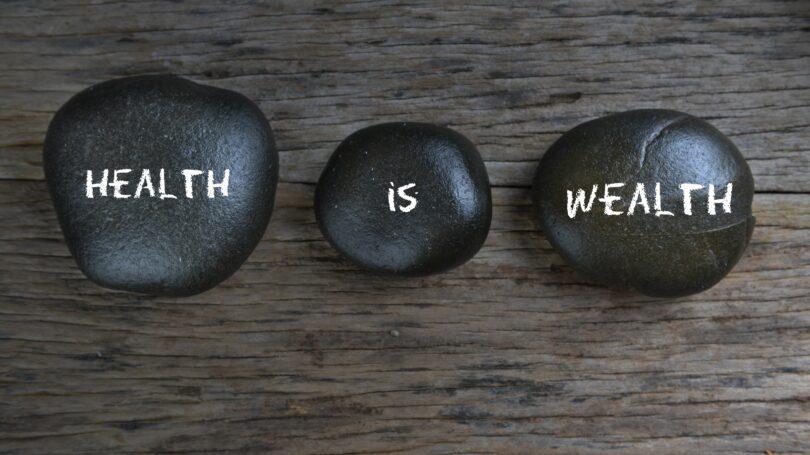 Health Is Wealth Stones Rocks