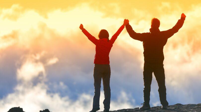Life Goals Climbing Mountain Hiking Success Bucket List