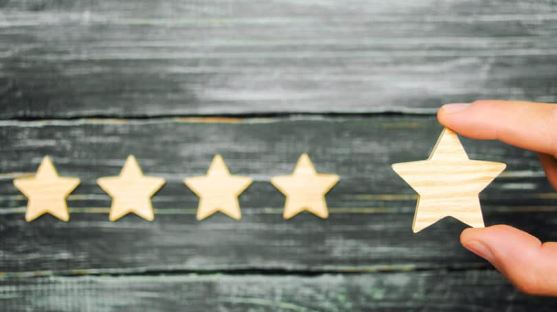 Rating Reviews Stars Score Wood