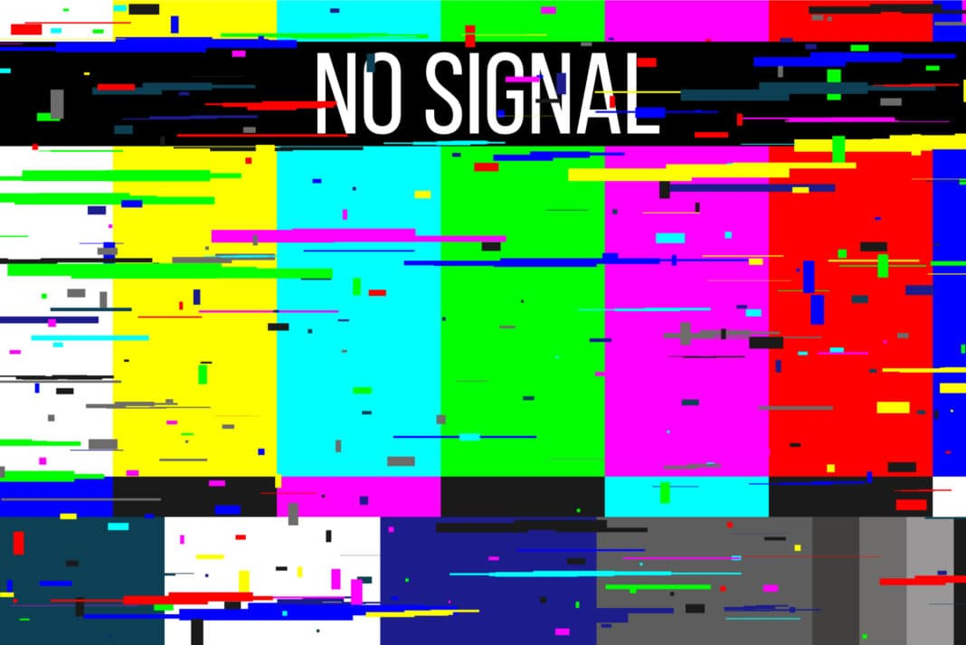 Tv No Signal Blurry
