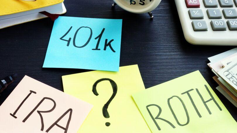 401k Ira Roth Quesiton Mark Post Its Retirement Plan Options
