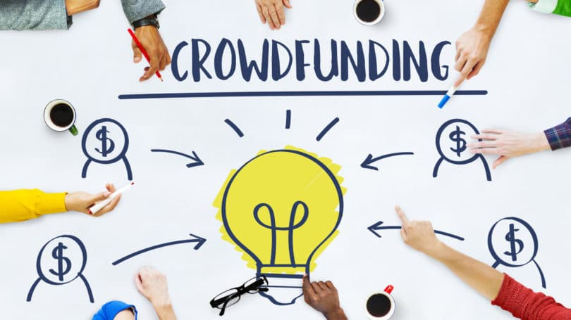 Crowdfunding Idea Light Bulb Investors Meeting
