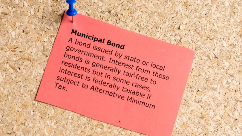 Municipal Bond Definition Cork Board Tack