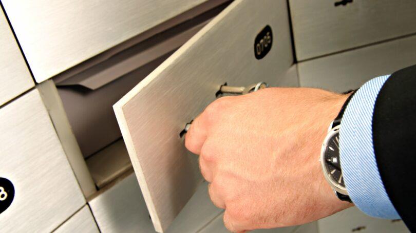 Opening Safe Deposit Box