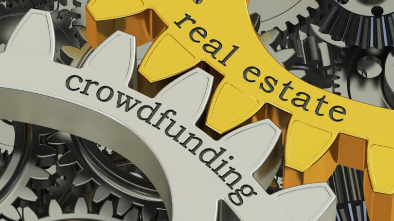 Realestate Crowdfunding Wheels Working Churning