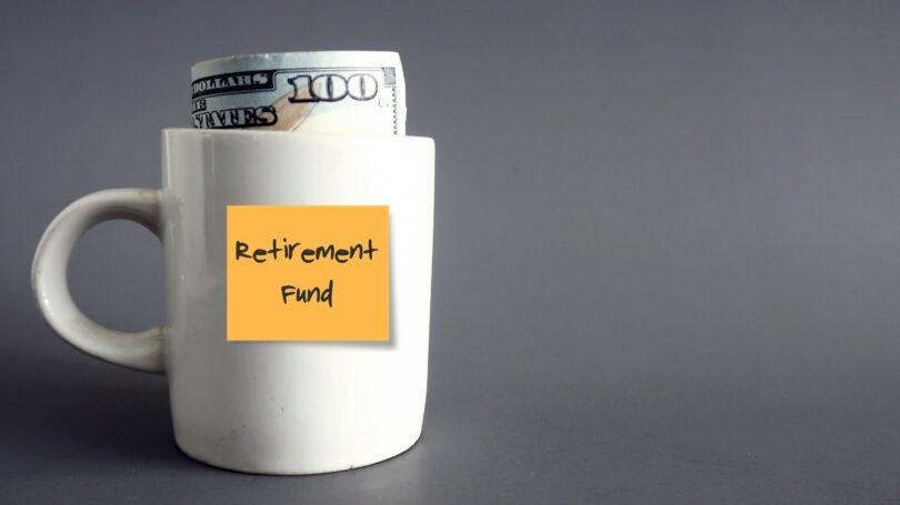Retirement Fund Mug Cash Post It