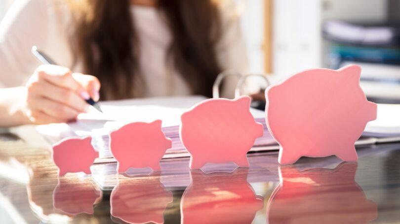 Saving Financial Planning Increasing Pigs Growth