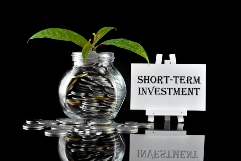 Short Term Investment Coins Savings Jar