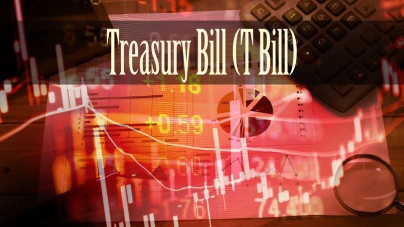 Treasury Bill T Bill Graphs Numbers Chart