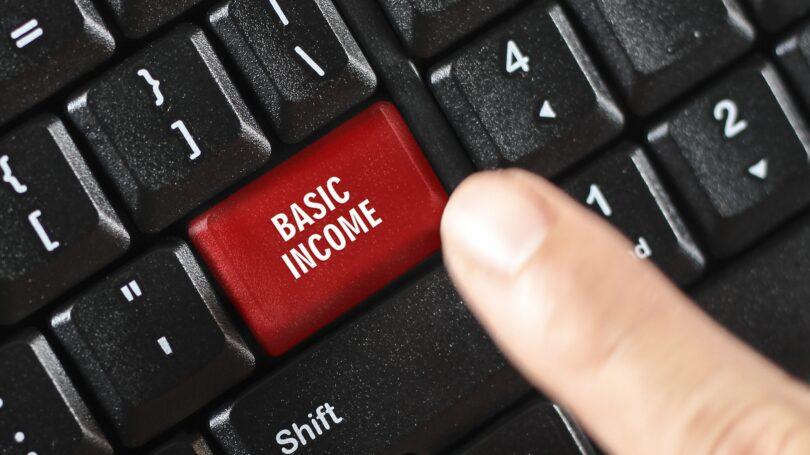 Basic Income Keyboard Button