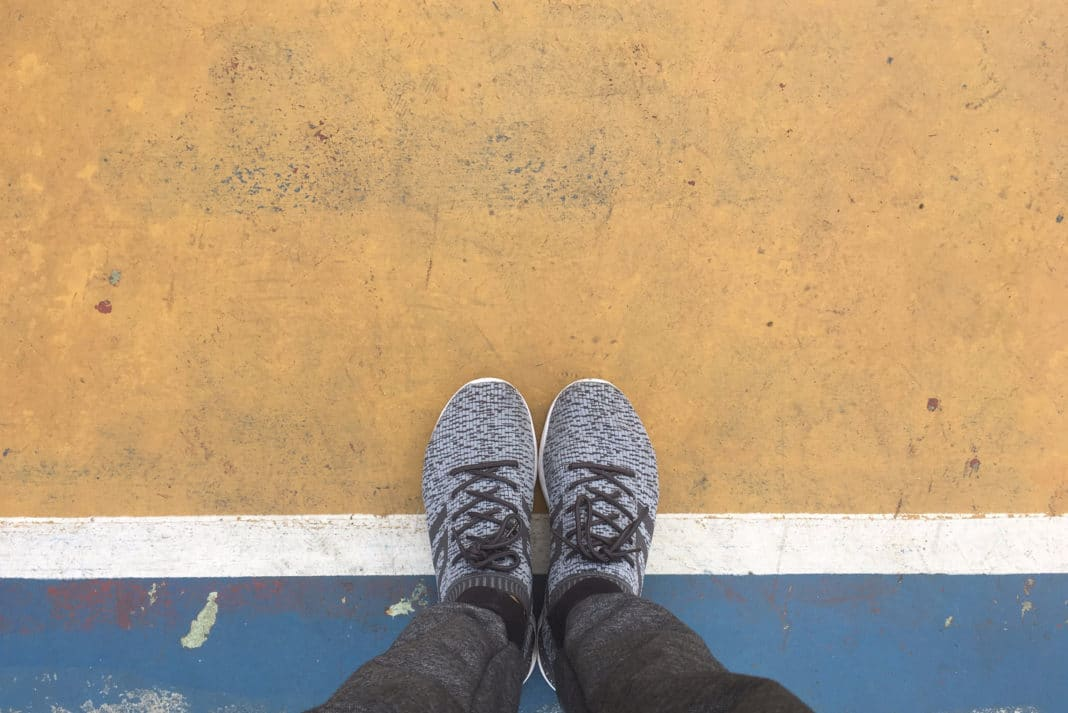 Standing On The Line Think On Feet Sneakers