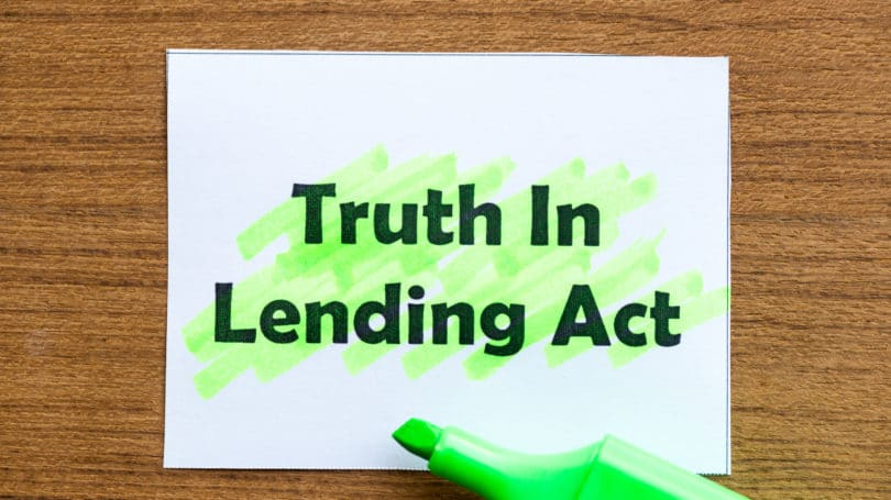 Truth In Lending Act Highlighter