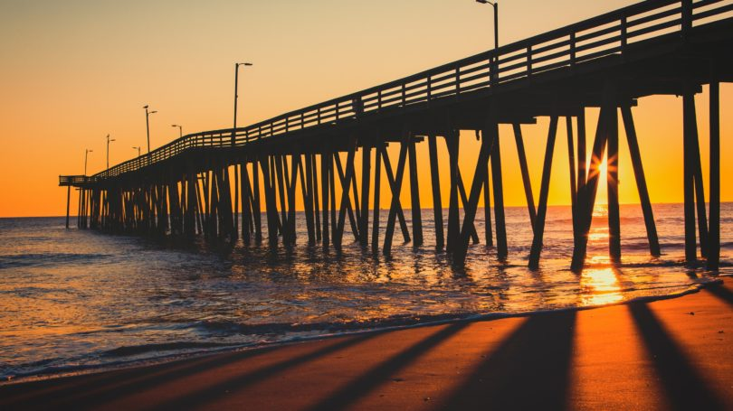 Virginia Beach Sunrise 15th Street Pier