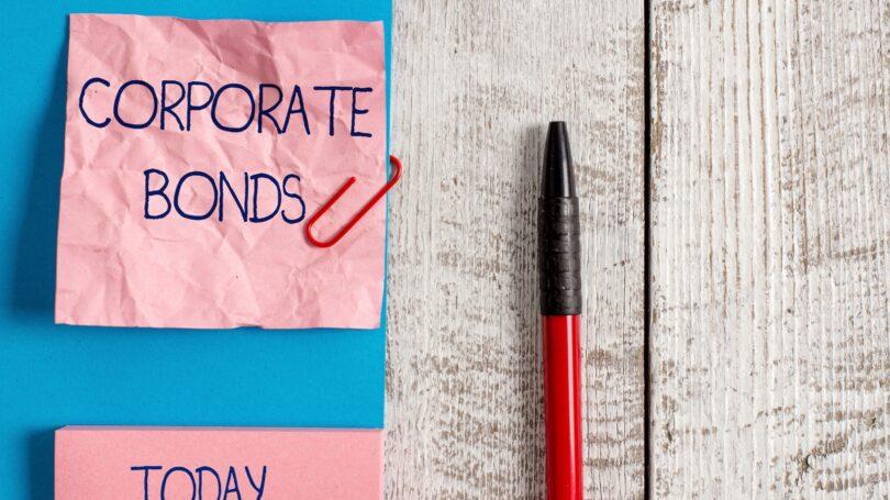 Corporate Bonds Paper Clip Post It Pen