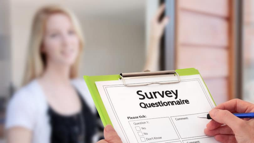 Door To Door Survey Questionaire