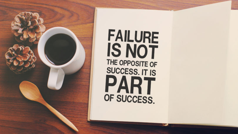 Failure Is Part Of Success Journal Book Coffee
