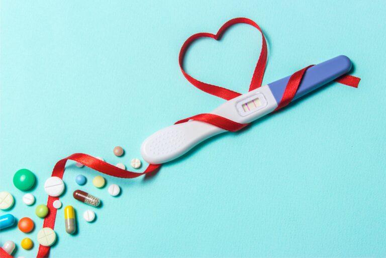 Infertility Positive Pregnancy Test Treatment Pills