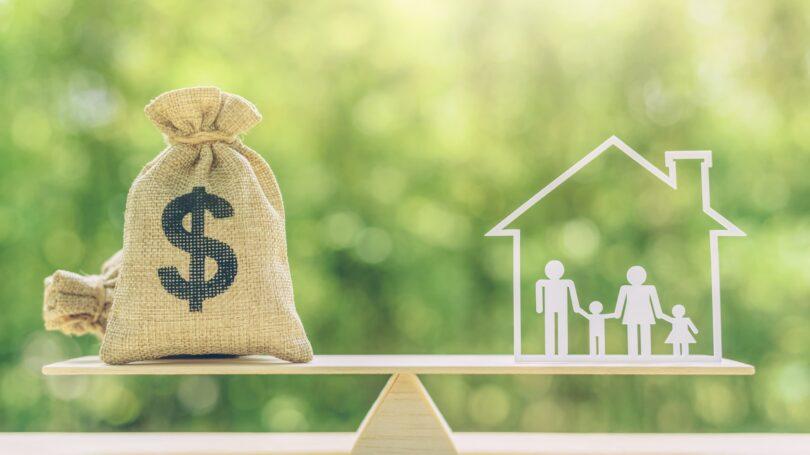 Loan Home Equity Family Balance Scale