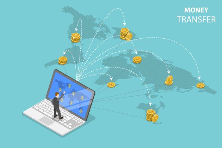 Money Transfer International From Laptop Remote