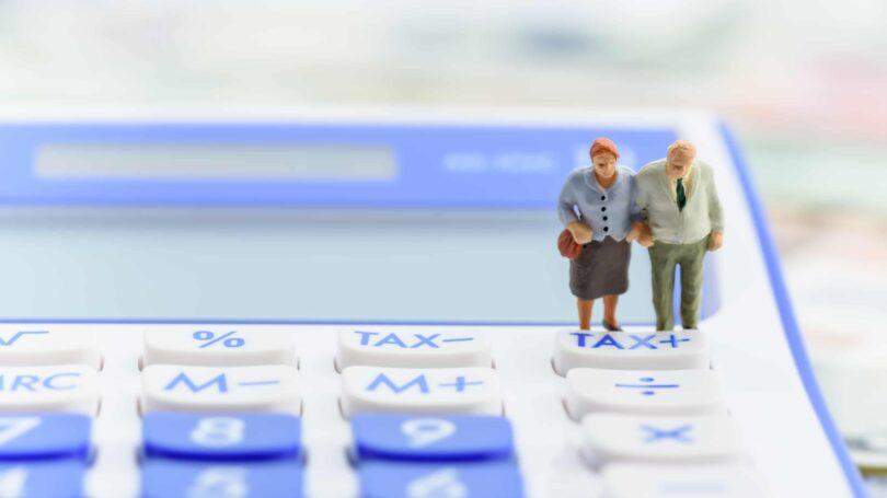 Retirement Tax Pension Income Elderly Couple Calculator
