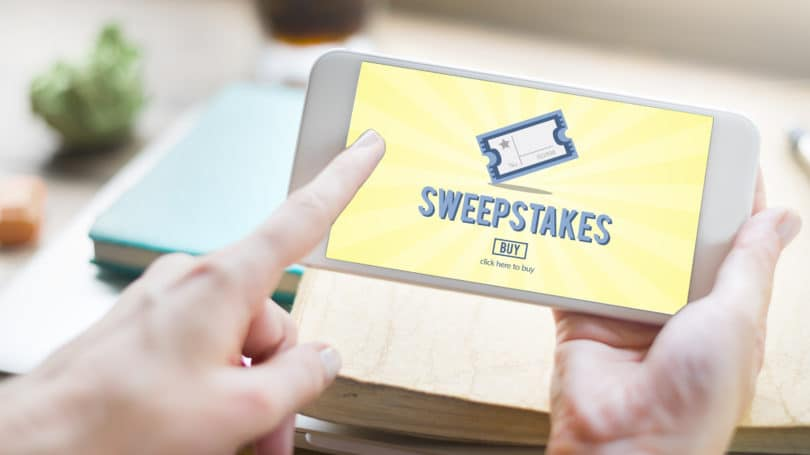 Sweepstakes Enter To Win Phone