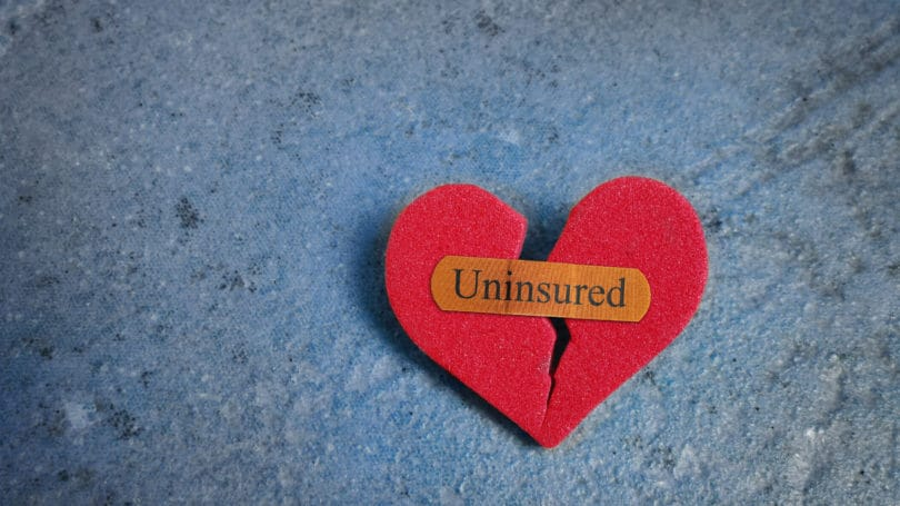 Uninsured Broken Heart Health Care