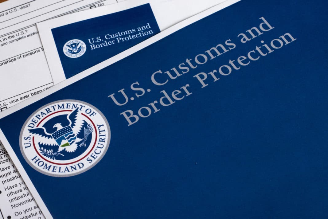Us Customs And Border Protection Logo Paperwork
